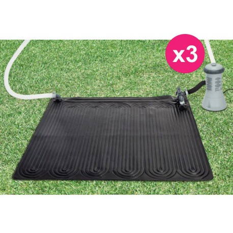 Set di 3 solare per piscina sopra terra intex tappeto - Piscina di brembate sopra ...