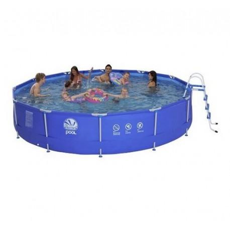 piscine tubulaire ronde 450x90 poolmarina. Black Bedroom Furniture Sets. Home Design Ideas