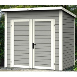 Garden wooden Massif 3.16 square metres - 19mm Skur 3 grey - Baltic