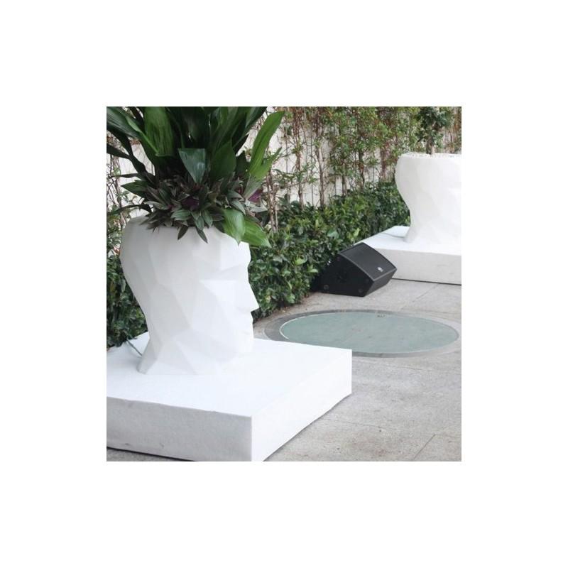 Adan Pot Outdoor Vondom white 70
