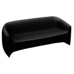 Vondom sofá negro de golpe