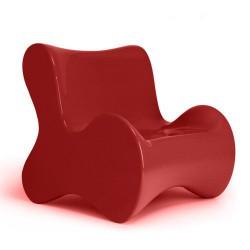 Мягкое кресло Butaca красный Vondom