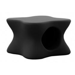 Мягкие Меса Vondom черный журнальный столик