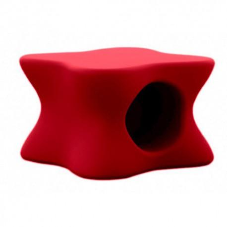 Tavolino Salotto Rosso.Tavolino Da Salotto Morbido Mesa Vondom Rosso
