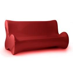 Doux Sofa Canape Vondom Rouge