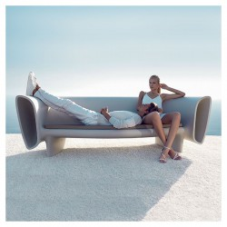 Basic Bumbum Vondom white sofa