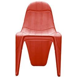 F3 كرسي فوندوم الأحمر
