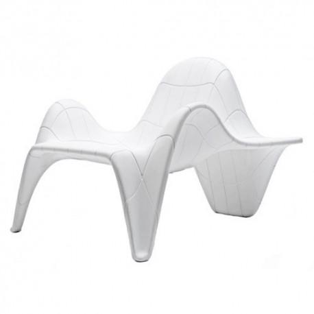 F3 Lacquer Chair Vondom white lacquer