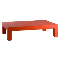 Jut Меса 120 таблицы низкой Vondom красный