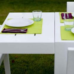 Jut Mesa 280 Table rectangular Vondom white