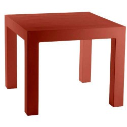 Jut Mesa 90 Table Haute Vondom Rouge