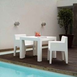 Jut Vondom Alta Mesa 90 tavolo bianco