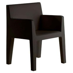 Jut furrow Chair Vondom black