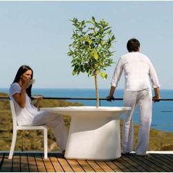 Fioriera tavolo medio bianco Vondom MoMA