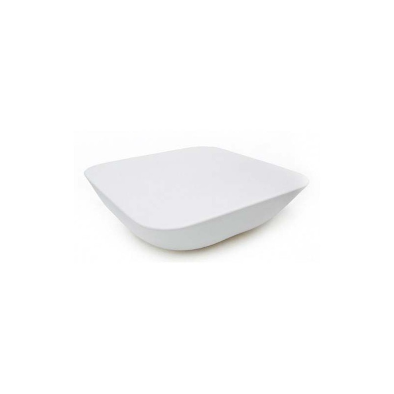 Pillow mesa table basse vondom blanc mat for Table blanc mat