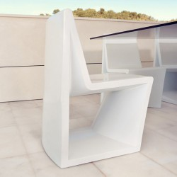 Rest chair Vondom white Matt