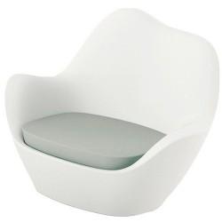 كرسي فوندوم سبينس بيضاء