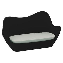 أريكة سبينس فوندوم الأسود