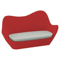 Sofá rojo de Sabinas Vondom