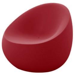 Poltrona de pedra vermelha de empuxo