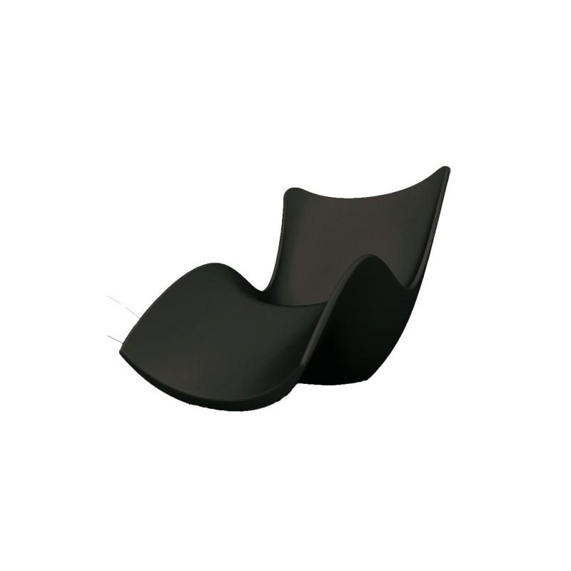 surf tumbona bain de soleil vondom noir. Black Bedroom Furniture Sets. Home Design Ideas