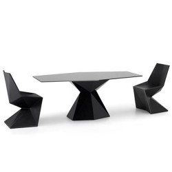 Vertex Mesa Table Vondom Noir