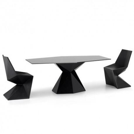 Vertex Mesa Table Vondom black