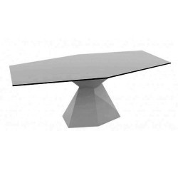 Vertex Mesa Table Vondom Gris