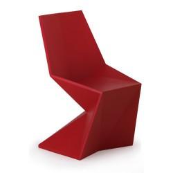 Vertice di Silla sedia Vondom rosso