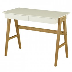 Lacquered white drawers KosyForm 2 desktop