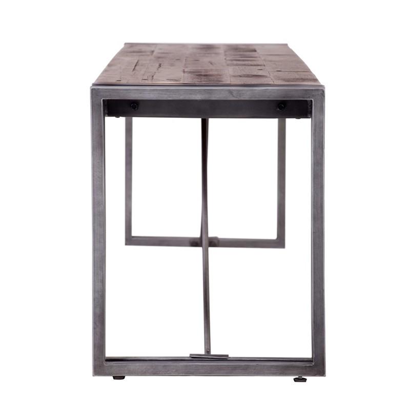 Small Table Wood And Metal 140 X 60 Kosyform