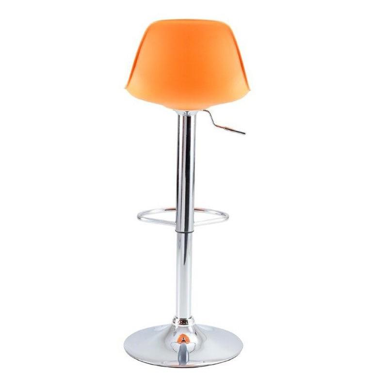 lot de 2 tabourets de bar orange kosyform. Black Bedroom Furniture Sets. Home Design Ideas