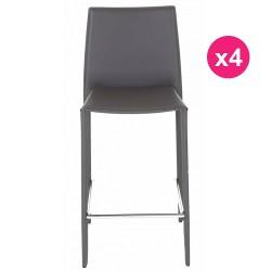 """مجموعة من الكراسي 4 """"خطة عمل"""" رمادي كوسيفورم"""