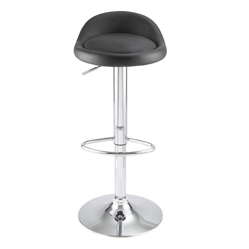 lot de 2 tabourets de bar noir kosyform. Black Bedroom Furniture Sets. Home Design Ideas