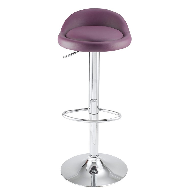 Lot de 4 tabourets de bar violet kosyform - Lot 4 tabouret de bar ...
