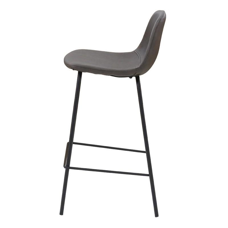 lot de 4 chaises de bar marron vieilli kosyform. Black Bedroom Furniture Sets. Home Design Ideas