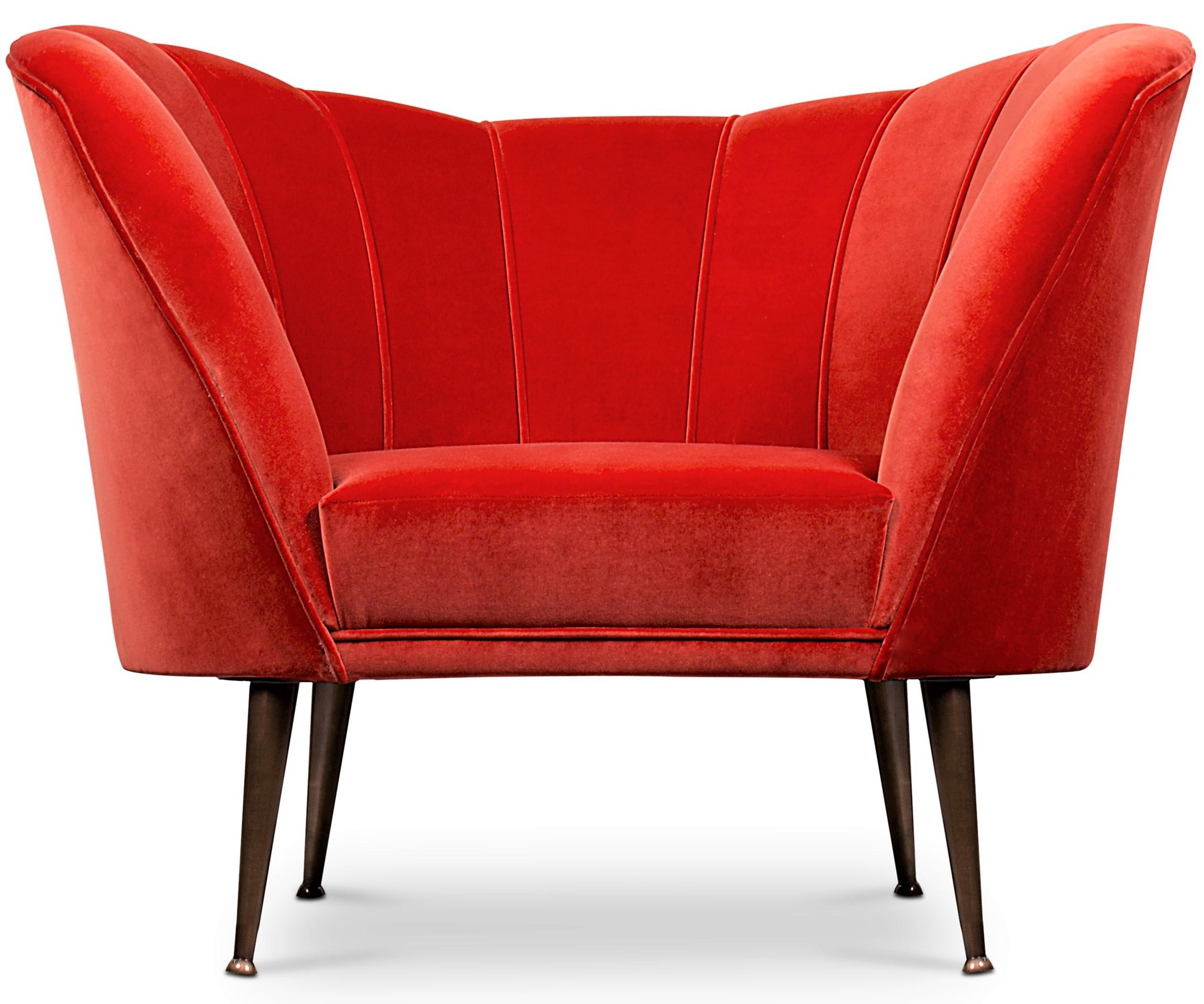 Stuhl rot Anden BRABBU Design Kräfte