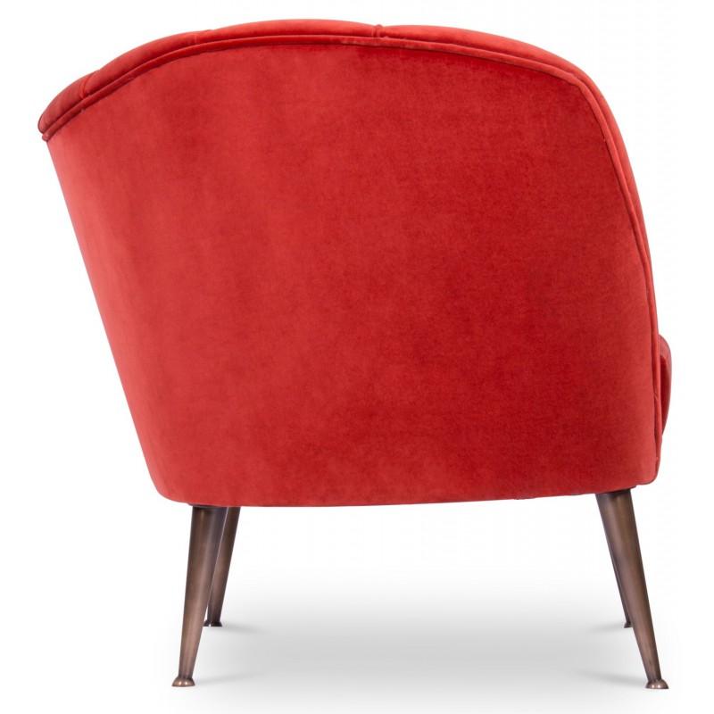Fauteuil andes rouge brabbu design forces - Fauteuil rouge design ...