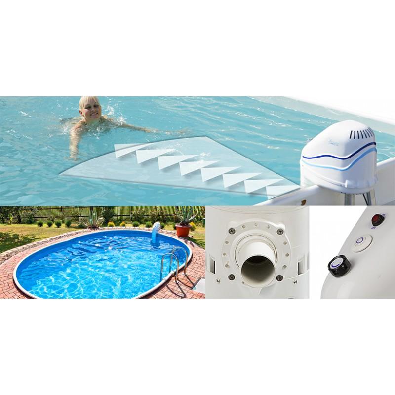 nage contre courant cheap espa kit pompe mh facade. Black Bedroom Furniture Sets. Home Design Ideas
