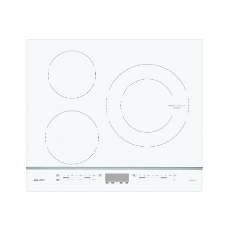 table induction sauter spi4360w blanc avec 3 foyers. Black Bedroom Furniture Sets. Home Design Ideas