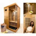 Sauna infravermelho Courchevel 2 lugares VerySpas