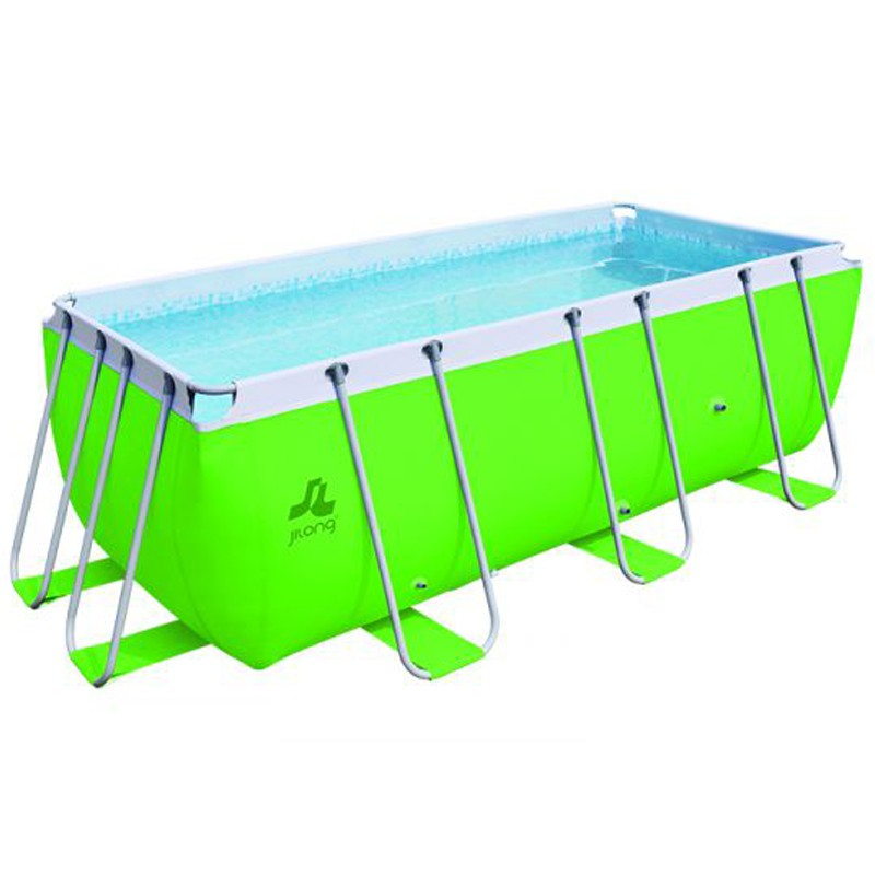 Piscine jilong hors sol tubulaire passaat verte 400 x 200 for Nettoyer piscine verte hors sol
