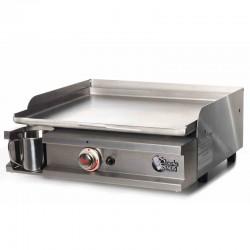 Fuego de plancha Tonio Primo 1 caja y placa gas acero inoxidable