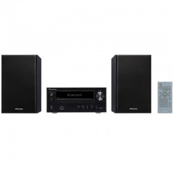 Pioneer Micro Chaine Black BlueTooth USB et CD