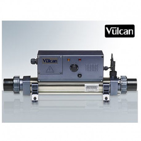 Elektrische Pool Vulcan Heizung Analog Mono Titan 4.5kW