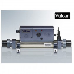 Vulcan heater analog titanium Mono 6kW swimming pool above ground and buried