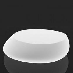 Lámpara de mesa baja blanca piedra Vondom