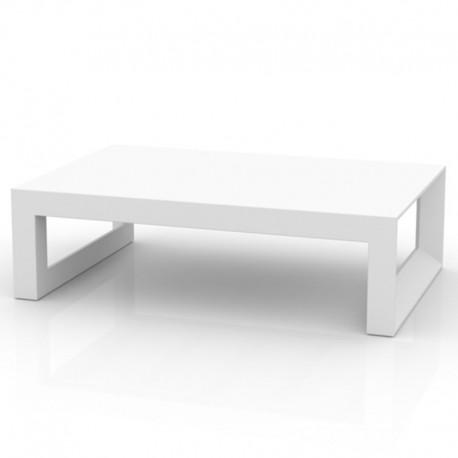 Basse Vondom Frame Rectangle Table Blanc QsrthdC