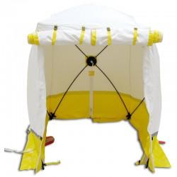 Tente Cubique de Chantier Trotec 210 KE Jaune 210 x 210 x 200