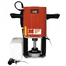 Carotteuse à eau sur colonne Trotec pour perçages de 8 à 120 mm